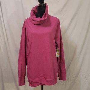 NWT Semi Fitted turtle neck sweatshirt